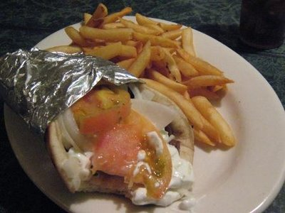 Bibo's Greek Restaurant - Gyro